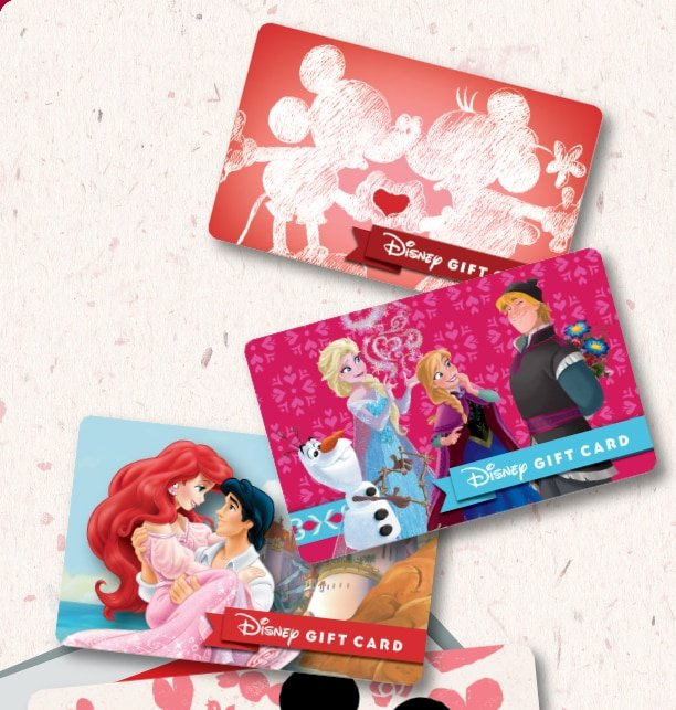 Disney Store: Disney Gift Card, a Valentine's Day gift they are ...