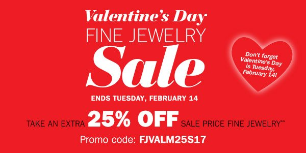 valentine day jewellery sale c valentines jewelry s