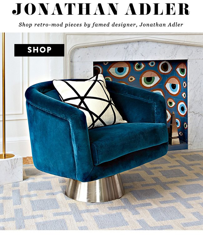 Lulu And Georgia Just Landed Jonathan Adler Furniture Milled