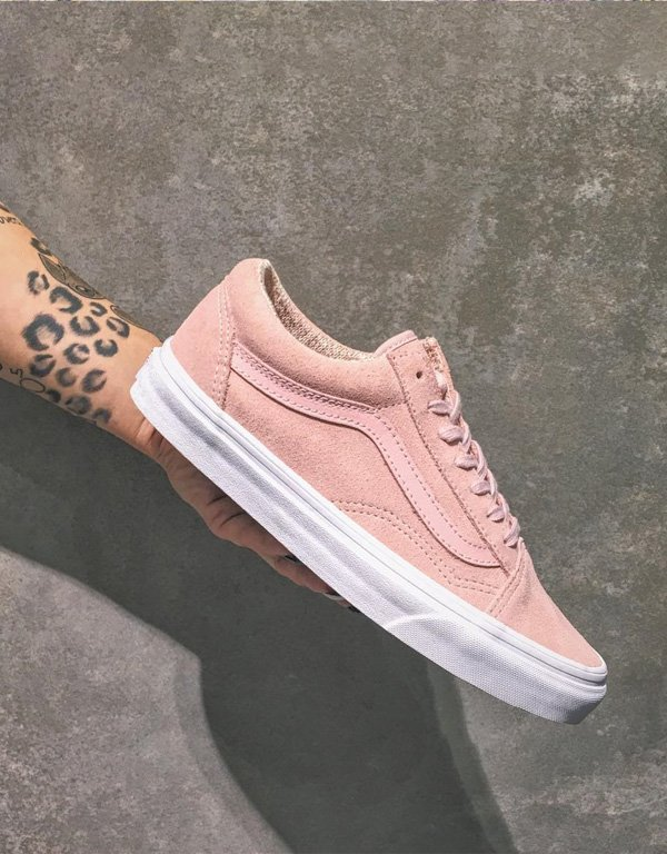 vans old skool light pink   Come and stroll! fe063b9a882b