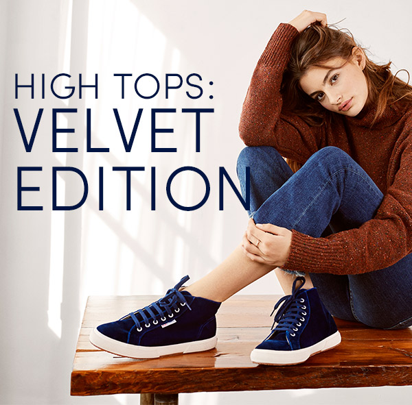 High Tops: Velvet Edition