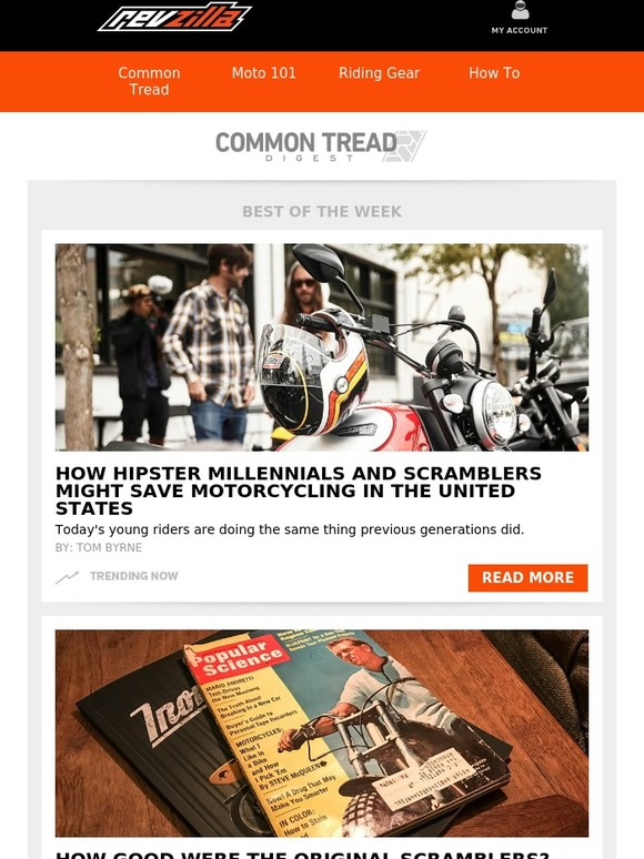 2c4f73244f Revzilla  CT Digest  162  How Hipster Millenials and Scramblers Might Save  Motorcycling