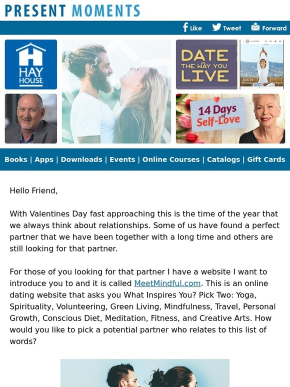 Dating website for meditation