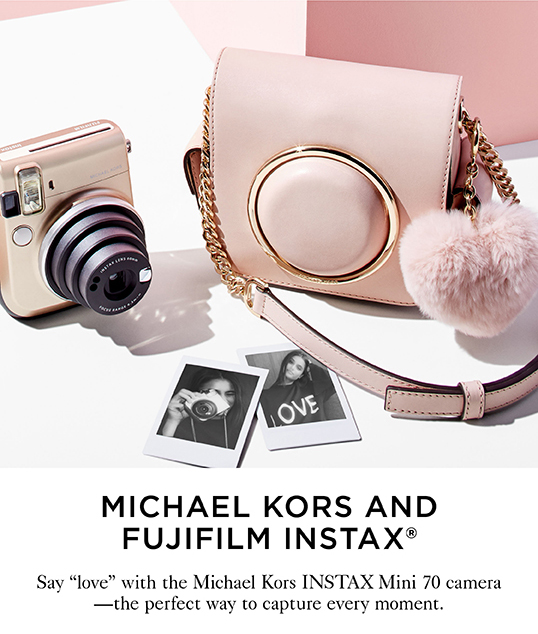 MICHAEL KORS AND FUJIFILM INSTAX®
