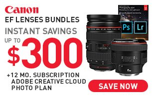 Canon Lenses with Adobe