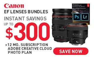Canon Lenses with Adobe
