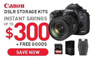 Canon DSLR storage kits