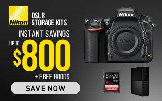 Nikon DSLR storage kits