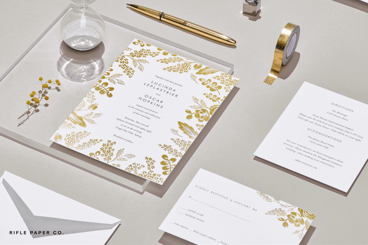 Paperless Post: Our 2017 wedding invitations have arrived. | Milled