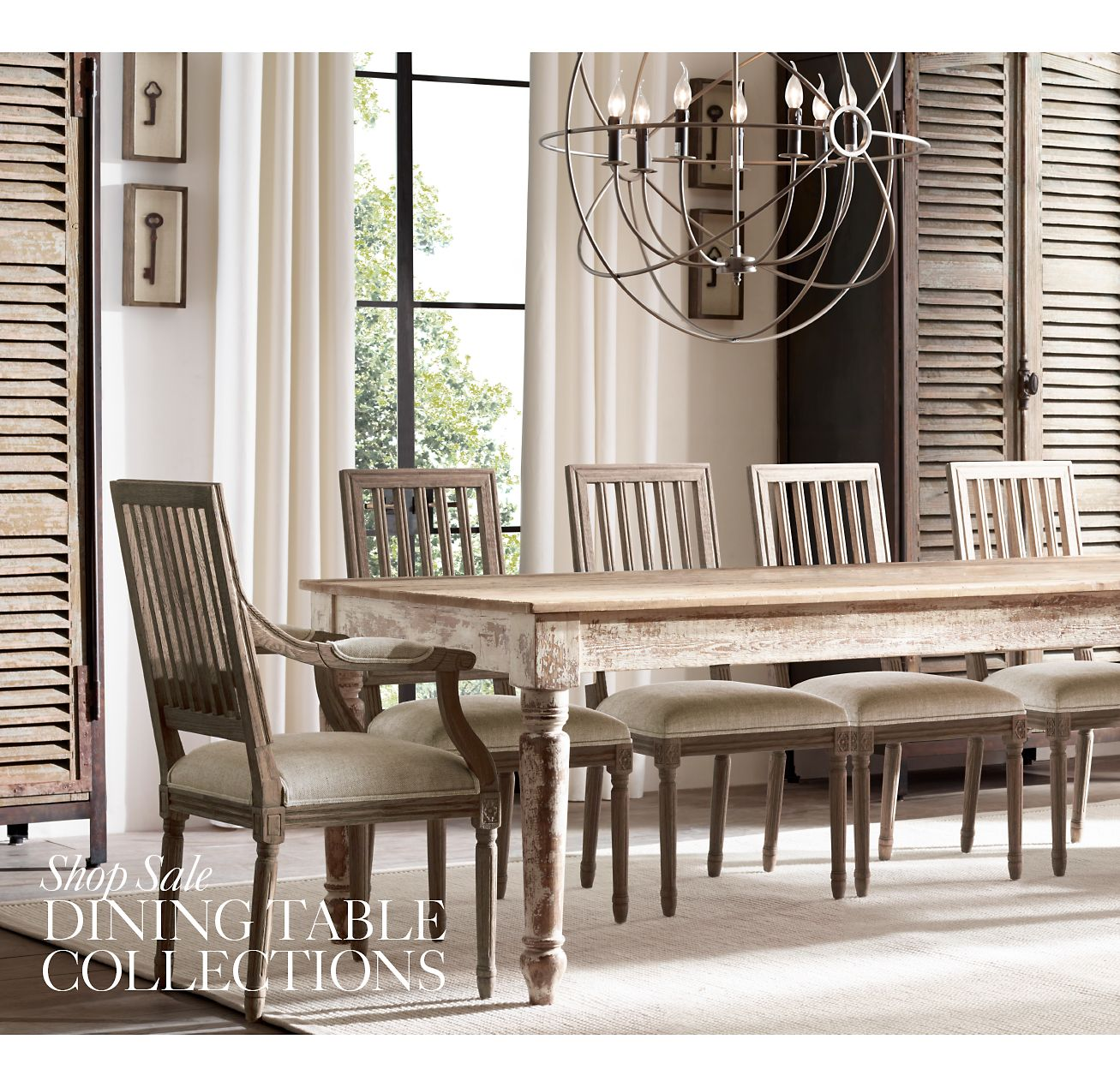 Restoration Hardware Sale: Restoration Hardware: The Winter Clearance Sale. Save Up