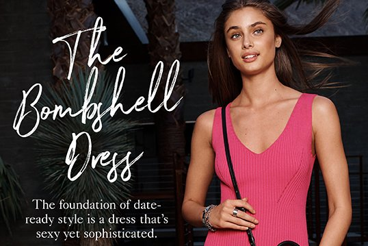 THE BOMBSHELL DRESS
