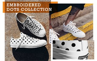 Shop Collection: Converse Chuck Taylor All Star '70 Embroidered Dots