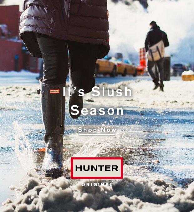 It's Slush Season