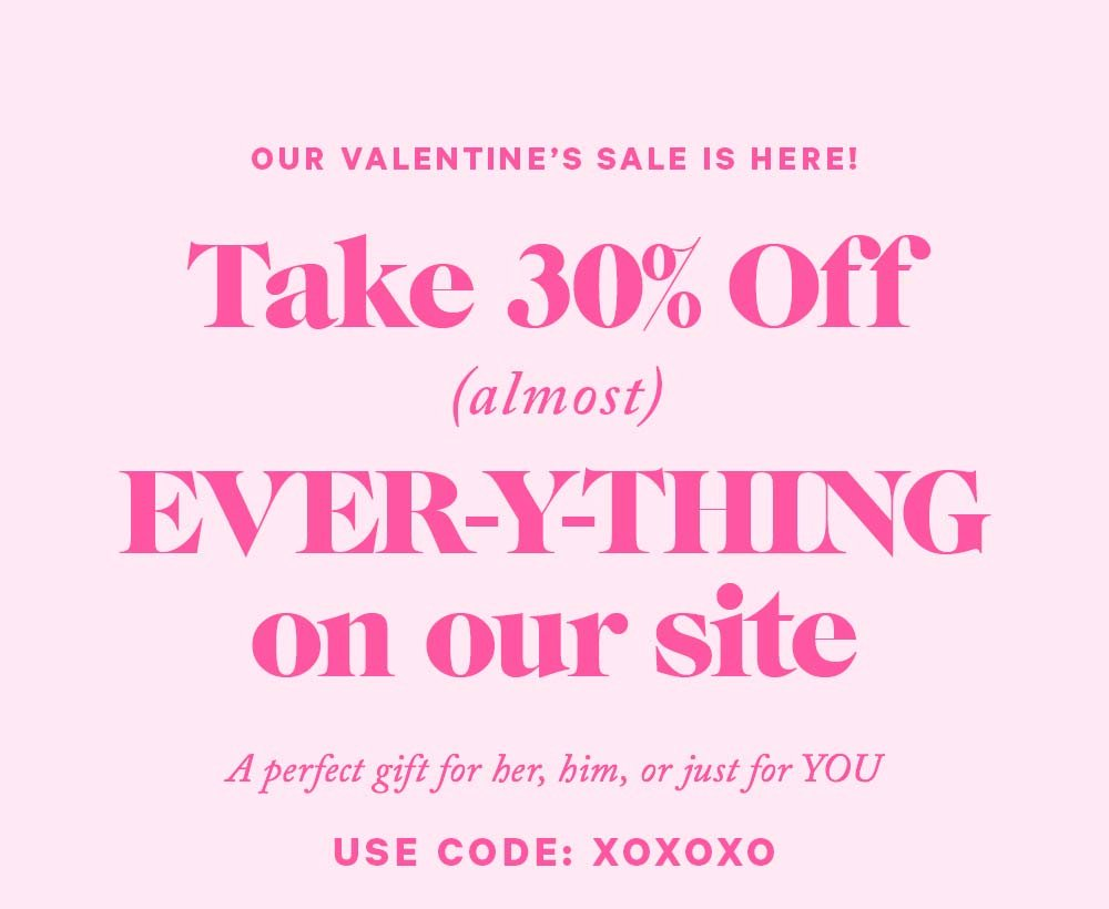 Take 20% Off EVER-Y-THING