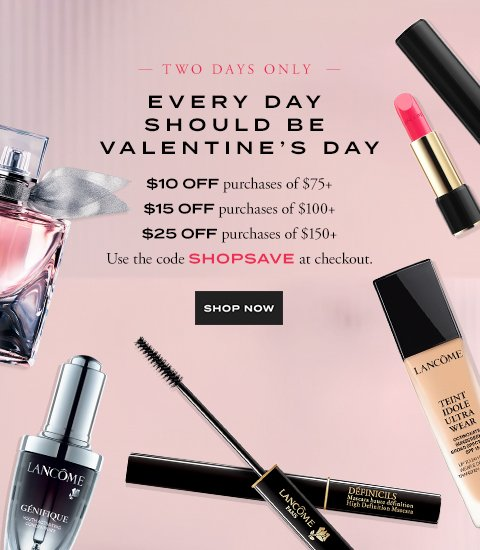 EVERY DAY SHOULD BE VALENTINE'S DAY - SHOP NOW