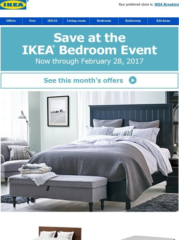 Ikea Cozy Up At The Ikea Bedroom Event Milled