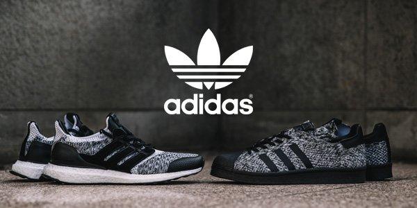 detailed look eeeba e39f2 adidas Consortium UltraBOOST & Superstar Boost Sneaker Exchange