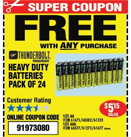 Harbor Freight Special Offer Presidents Weekend Sale Milled