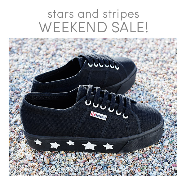 Stars and Stripes Weekend Sale!