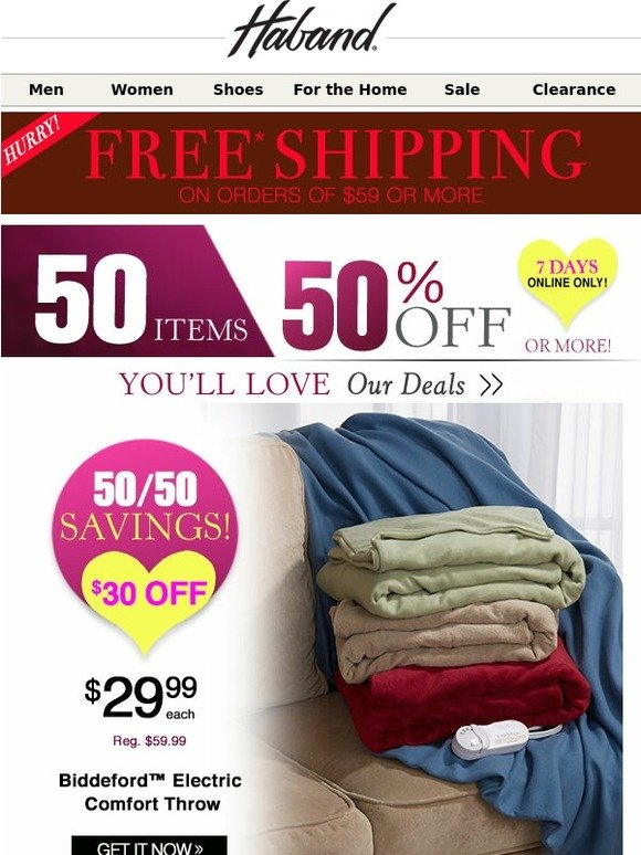 d8b8b17fd13 Haband  Wow... You Won t Believe These 50% Off Deals!