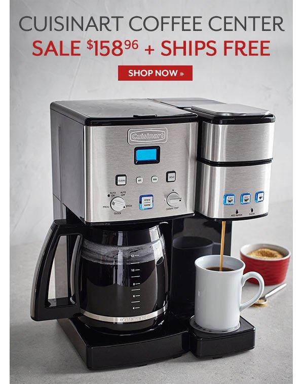 Cuisinart Coffee Center - Sale $158.96