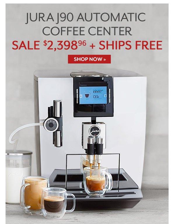 Jura J90 Automatic Coffee Center - Sale $2,398.96