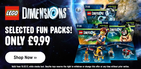LEGO Dimensions Offers