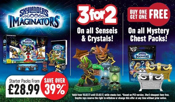 Skylanders Imaginators Offers