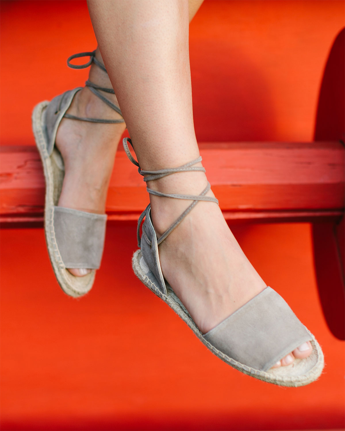 b34206e40ba0 Balearic Tie Up Sandal - The finishing touch for your all day exploring  look which transitions into happy hour. Pairs perfectly with sunsets and  margaritas.
