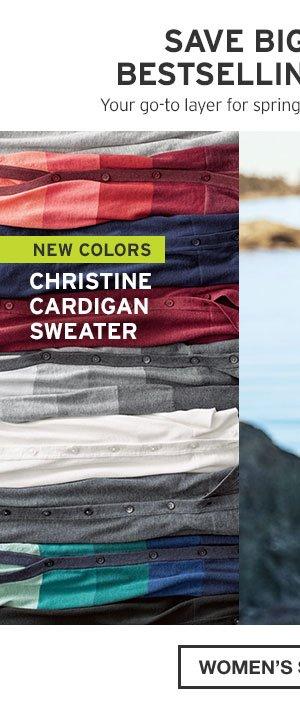CHRISTINE CARDIGAN SWEATER | WOMEN'S SWEATERS