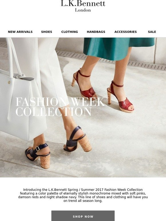 L.K.Bennett: Discover our New Fashion Week Collection