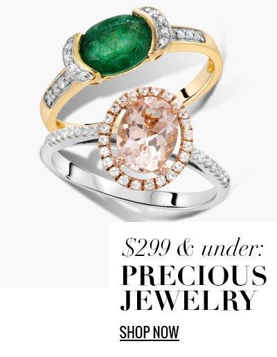 $299 & Under: Precious Jewelry