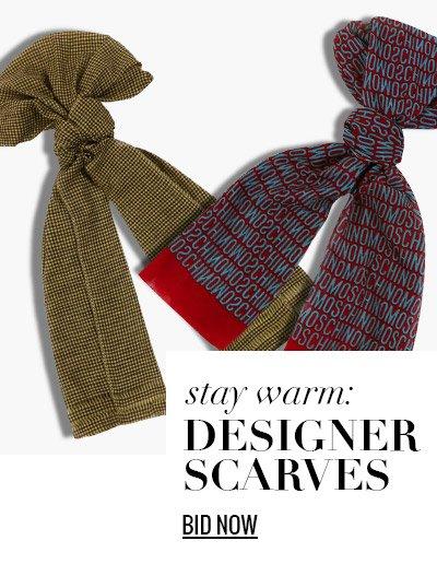 Stay Warm: Designer Scarves