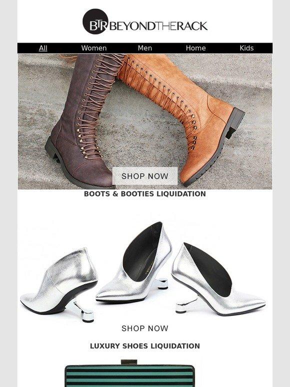 BTR: Luxury Footwear Liquidation, Cuisinart, Hugo Boss