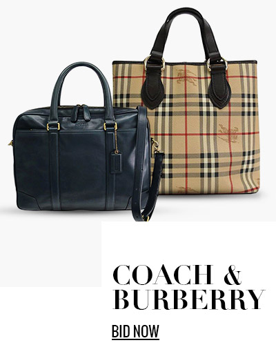 Coach & Burberry