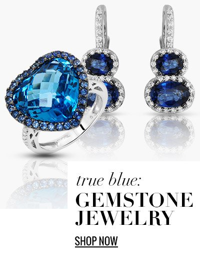 True Blue: Gemstone Jewelry