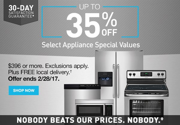 Lowes It S Your Day To Save On Select Appliance Special