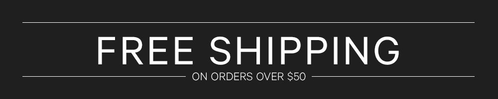 Free Shipping & Returns on Orders over $50