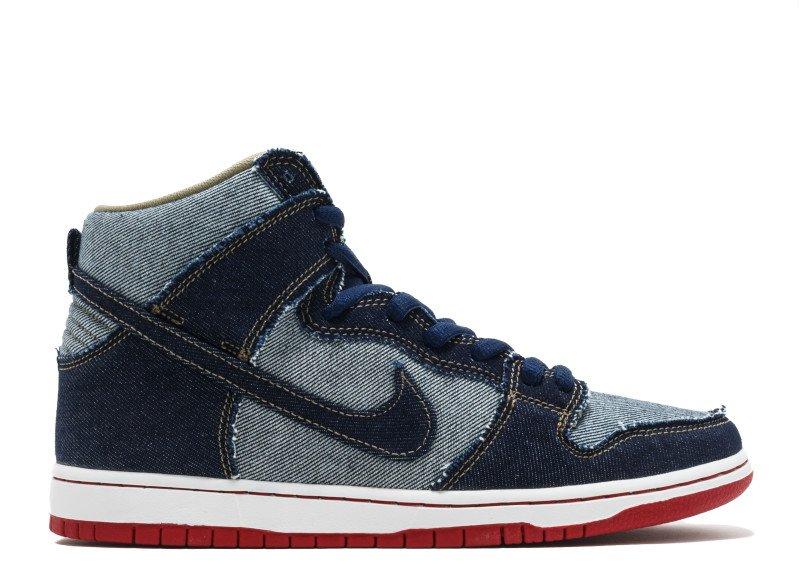 "free shipping e3656 e23e7 Nike Dunk SB High ""Reese Forbes Denim"""