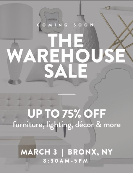 jonathan adler save the date the bronx warehouse sale is coming