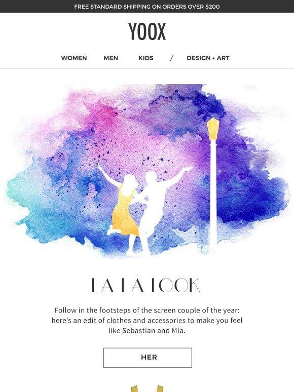 Yoox 🎶 La La Look Get Inspired Milled