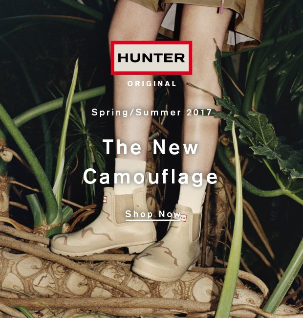 The New Camouflage: Shop Now