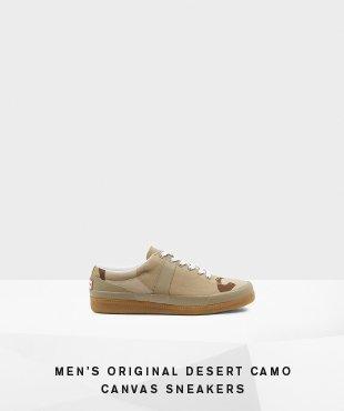 Men's Original Desert Camo Canvas Sneakers