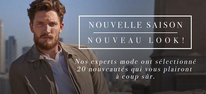 Nouvelle saison  Nouveau Look - Nos experts mode ont sélectionné 20 nouveautés qui vous plairont à coup sur.