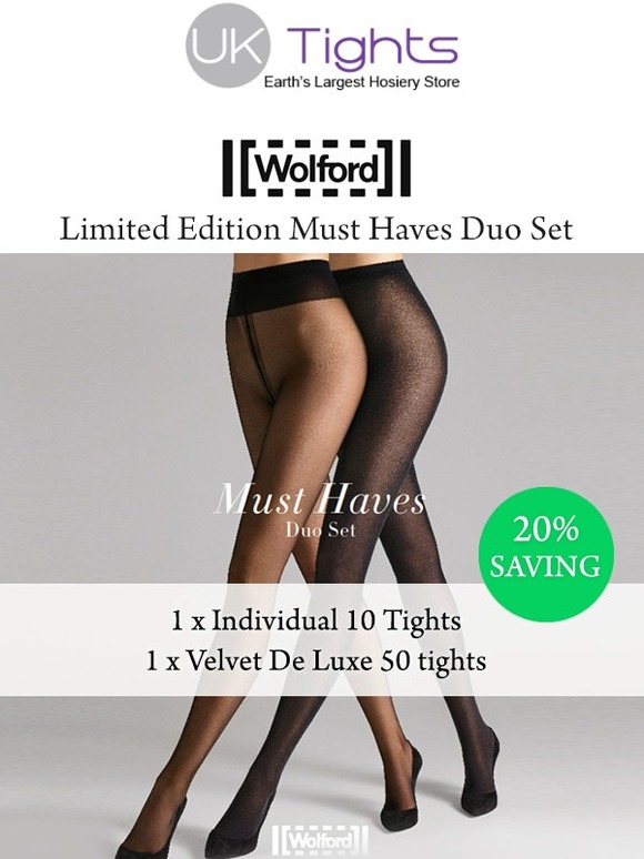 edefcc32b UK Tights  Save 20% With The Wolford Duo Set
