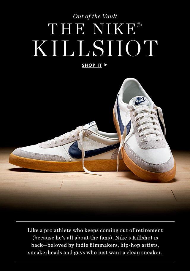 2632aebbf8e330 J.Crew  Guaranteed to go fast  the Nike Killshot