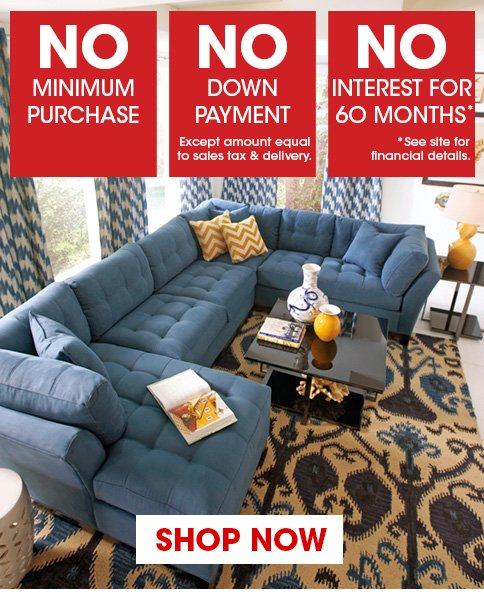 Rooms To Go: Anniversary Sale Prices & Financing Starts Now! | Milled