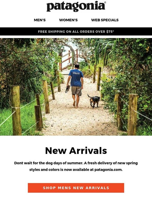 246d1f5bd Patagonia: New spring arrivals | Milled