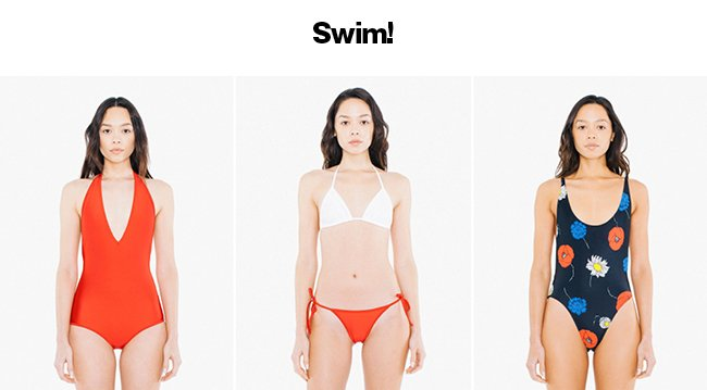Swim + 40% Off Everything. Shop Now.