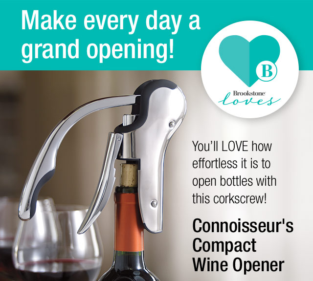 Brookstone We Love The Connoisseur S Wine Opener And So